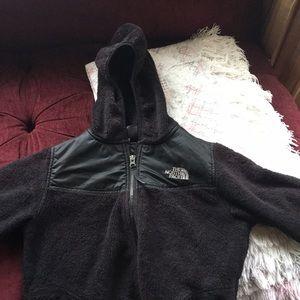 Girls North face jacket, size 10-12